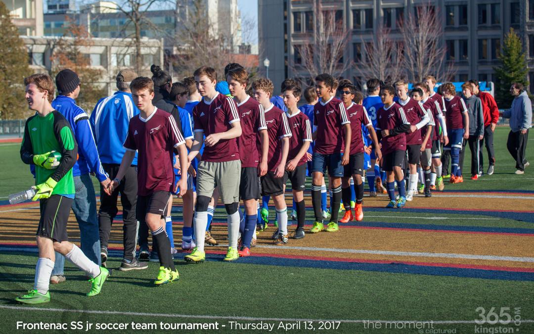Frontenac SS jr boys soccer team